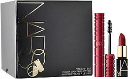 Voňavky, Parfémy, kozmetika Sada - Nars Studio 54 Set (mascara/6ml + lipstick/1.6g)