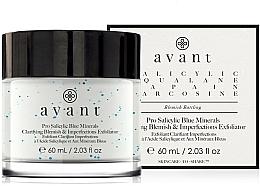 Voňavky, Parfémy, kozmetika Exfoliačný krém proti škvrnám a nedokonalostiam - Avant Pro Salicylic Blue Minerals Clarifying Blemish & Imperfections Exfoliator