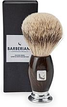 Voňavky, Parfémy, kozmetika Štetka na holenie - Barberians. Shaving Brush Silver Tip