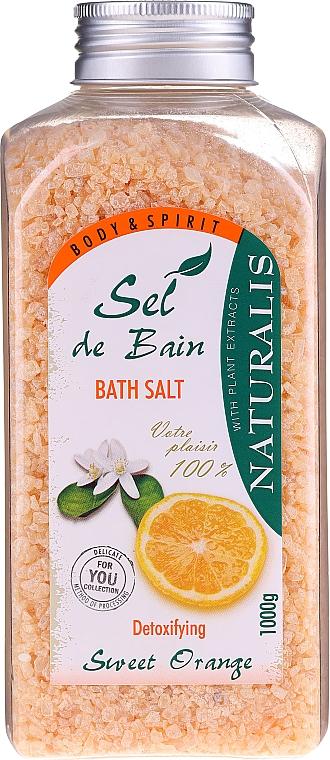 Soľ do kúpeľa - Naturalis Sel de Bain Sweet Orange Bath Salt