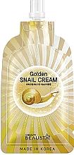 Voňavky, Parfémy, kozmetika Regeneračný krém na tvár so slimačím mucínom - Beausta Golden Snail Cream