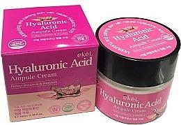Voňavky, Parfémy, kozmetika Ampulkový krém na tvár s kyselinou hyalurónovou - Ekel Hyaluronic Acid Ampule Cream