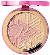 Voňavky, Parfémy, kozmetika Rozjasňovač - Pur X Barbie Confident Glow Signature Illuminating Highlighter