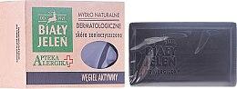 Voňavky, Parfémy, kozmetika Dermatologické mydlo s aktívnym uhlím - Bialy Jelen Apteka Alergika Soap