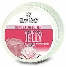 Voňavky, Parfémy, kozmetika Olej na ruky a nohy - Hristina Stani Chef's Hand And Foot Butter White Rose Jelly