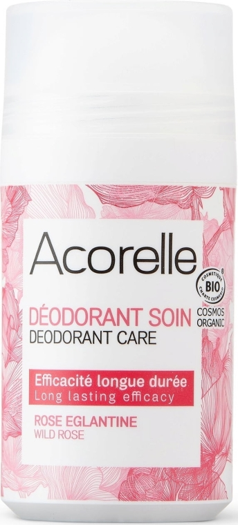 "Dezodorant roll-on ""Divoká ruža"" - Acorelle Wildrose Deo Roll-on"