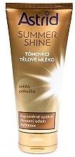 Voňavky, Parfémy, kozmetika Tonizujúce mlieko pre svetlú pokožku - Astrid Summer Shine