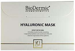 Voňavky, Parfémy, kozmetika Hyaluronická tvárová maska - Biodermic Hyaluronic Mask