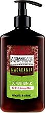 Voňavky, Parfémy, kozmetika Kondicionér na vlasy s olejom Macadamia - Arganicare Macadamia Conditioner