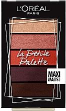Voňavky, Parfémy, kozmetika Paleta očných tieňov - L'Oreal Paris La Petite Palette Maximalist Eyeshadow