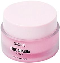 Voňavky, Parfémy, kozmetika Krém na tvár s melónovým extraktom, kyselinami ANA a BHA - Nacific Pink AHA BHA Cream