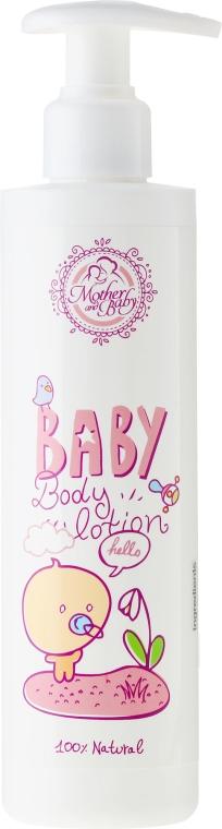 Telové mlieko pre dieťa - Mother And Baby Body Lotion