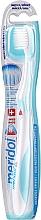 Voňavky, Parfémy, kozmetika Zubná kefka mäkká, bielo-tyrkysová - Meridol Gum Protection Soft Toothbrush
