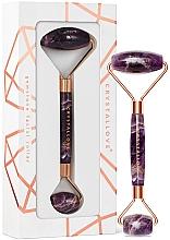 Voňavky, Parfémy, kozmetika Ametystový masážny valček na tvár - Crystallove Amethyst roller