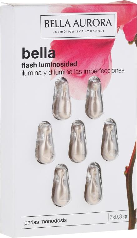 Kapsuly na tvár - Bella Aurora Flash Luminosity Facial Treatment