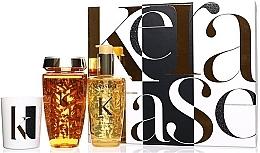 Voňavky, Parfémy, kozmetika Sada - Kerastase Elixir Ultime Luxury Gift Set (shmp/250ml + h/oil/100ml + candle/100g)