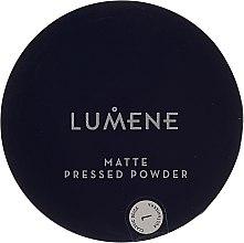 Voňavky, Parfémy, kozmetika Kompaktný zmatňujúci púder - Lumene Matte Pressed Powder