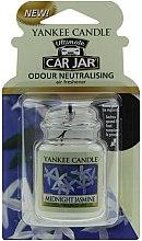 Voňavky, Parfémy, kozmetika Arómatizator do auta - Yankee Candle Car Jar Ultimate Midnight Jasmine