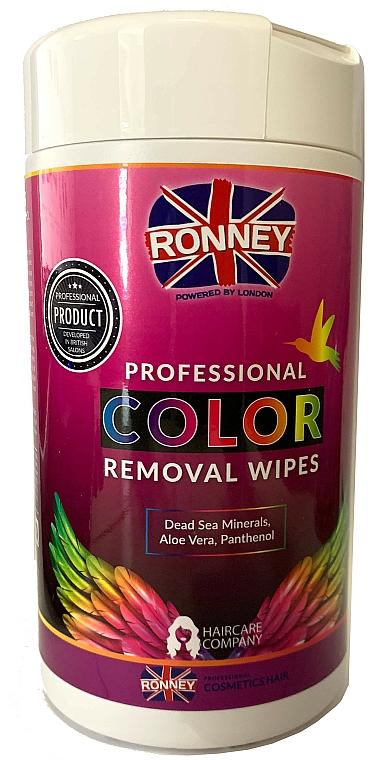 Utierky na odstránenie farby z pokožky - Ronney Profesional Color Removal Wipes