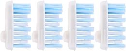 Voňavky, Parfémy, kozmetika Mäkké hlavy zubných kefiek - Yaweco Toothbrush Heads Nylon Soft