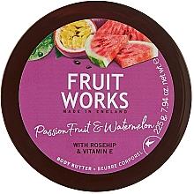 """Voňavky, Parfémy, kozmetika Olej na telo """"Marakuja a melón"""" - Grace Cole Fruit Works Body Butter"""
