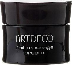 Masážny krém pre krehkú, popraskanú a suchú pokožku - Artdeco Nail Massage Cream — Obrázky N2