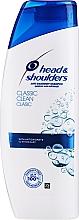 Voňavky, Parfémy, kozmetika Šampón na vlasy - Head & Shoulders Classic Clean Shampoo