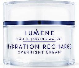 Voňavky, Parfémy, kozmetika Nočný hydratačný a obnovujúci krém - Lumene Lahde Hydration Recharge Overnight Cream