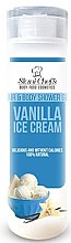 Voňavky, Parfémy, kozmetika Gél na vlasy a telo - Hristina Stani Chef's Hair And Body Shower Gel Vanilla Ice Cream