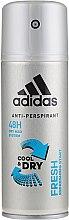 Voňavky, Parfémy, kozmetika Deodorant - Adidas Anti-Perspirant Fresh Cool Dry 48h