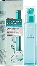 Voňavky, Parfémy, kozmetika Vodný fluid pre normálnu až suchú pokožku - L'Oreal Paris Hydra Genius Aloe Water