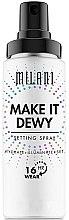 Voňavky, Parfémy, kozmetika Sprej na upevnenie make-upu s účinkom lesku 3 v 1 - Milani Make It Dewy 3-In-1 Setting Spray Hydrate + Illuminate + Set