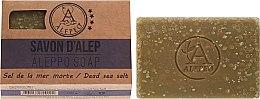Voňavky, Parfémy, kozmetika Mydlo Aleppo s morskou soľou - Alepeo Aleppo Soap Dead Sea Salt 8%