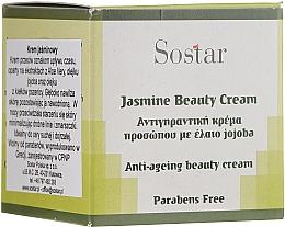 Voňavky, Parfémy, kozmetika Omladzujúci krém na tvár s jazmínom - Sostar Jasmine Anti-Aging Beauty Cream