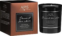Voňavky, Parfémy, kozmetika Prírodná sójová sviečka - APIS Professional Dessert For Skin Candle