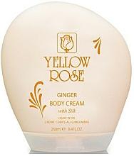 Voňavky, Parfémy, kozmetika Krémové mlieko na telo - Yellow Rose Ginger Body Cream