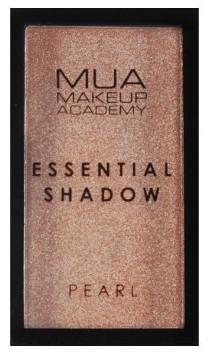 Očný tieň - MUA Essential Shadow Pearl