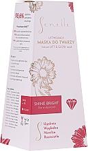 Voňavky, Parfémy, kozmetika Liftingová maska na tvár - Senelle Instant Lift & Glow Mask