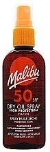 Voňavky, Parfémy, kozmetika Suchý telový olej na opaľovanie - Malibu Continuous Dry Oil Spray SPF 50
