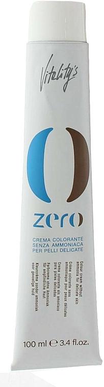 Permanentná krémová farba bez amoniaku - Vitality's Zero Color Cream