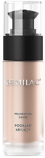 Make-up s matným krytím - Semilac Foundation Cover