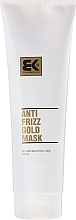 Voňavky, Parfémy, kozmetika Regeneračná maska pre poškodené vlasy - Brazil Keratin Anti Frizz Gold Mask