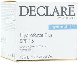 Voňavky, Parfémy, kozmetika Ultra hydratačný denný krém s SPF 15 - Declare Hydroforce Plus SPF 15 Cream