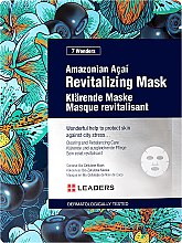 Voňavky, Parfémy, kozmetika Maska na tvár - Leaders 7 Wonders Amazonian Acai Revitalizing Mask
