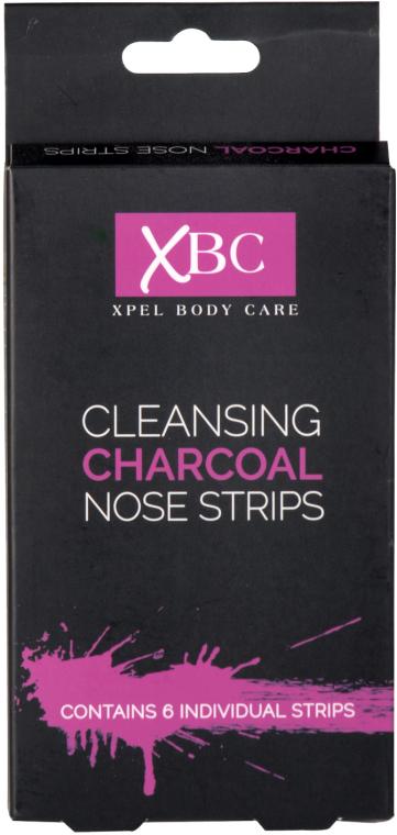Čistiace pásiky na nos s uhlím - Xpel Marketing Ltd Body Care Cleansing Charcoal Nose Strips