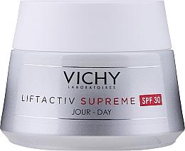 Voňavky, Parfémy, kozmetika Ošetrovací krém proti vráskam a pre pružnosť pleti s SPF 30 - Vichy Liftactiv Supreme Intensive Anti-Wrinkle Day Cream SPF30