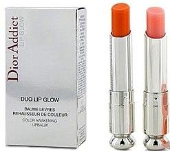 Voňavky, Parfémy, kozmetika Sada - Dior (lip/balm/3.5g + lip/balm/3.5g)