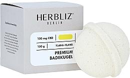 """Voňavky, Parfémy, kozmetika Šumivá bomba do kúpeľa """"Ylang ylang"""" - Herbliz CBD"""