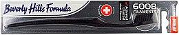 Voňavky, Parfémy, kozmetika Mäkká zubná kefka - Beverly Hills Formula 6008 Filament Charcoal Toothbrush