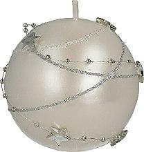 Voňavky, Parfémy, kozmetika Biela dekoratívna sviečka, 8cm - Artman Christmas Garland